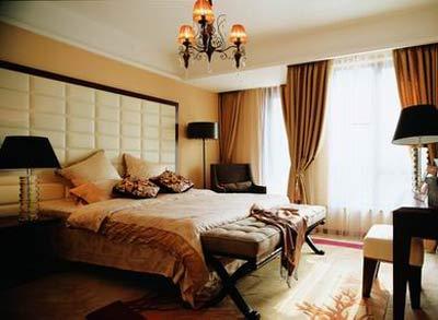 100平婚房卧室客厅餐厅设计详解 组图
